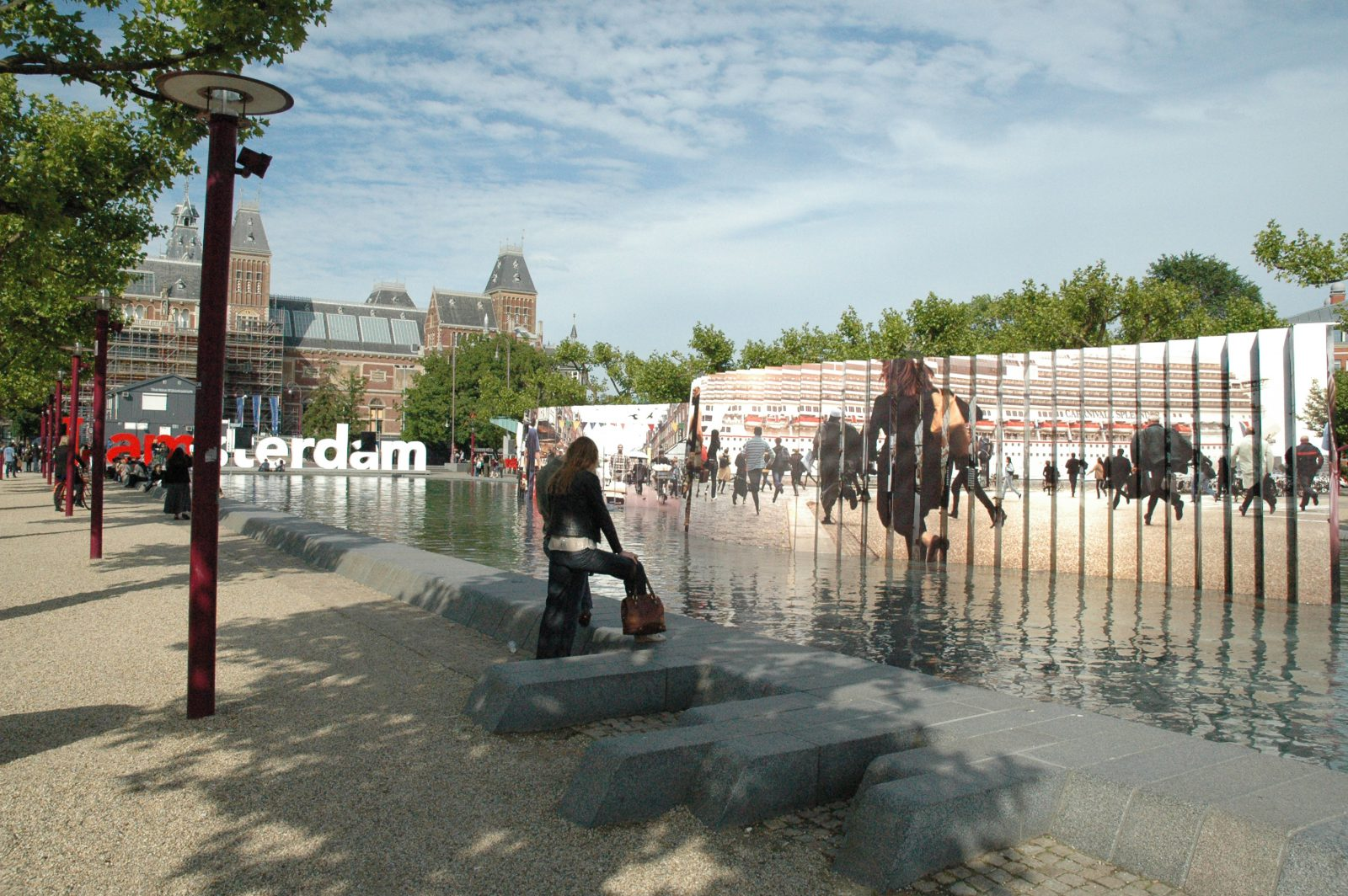 Installation Peter Funch - Museumplein (Amsterdam, the Netherlands 2009)